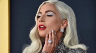 Lady Gaga en la promoción de 'Ha nacido una estrella'