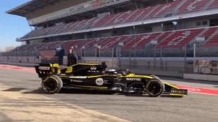 Daniel Ricciardo, en el Circuit.