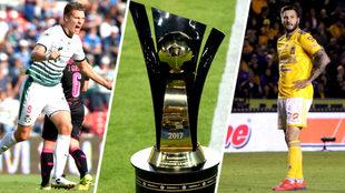 Tigres y Santos en busca de su primer título de Concacaf.