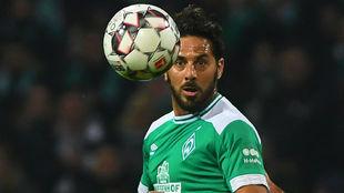 Pizarro (40), del Werder Bremen.