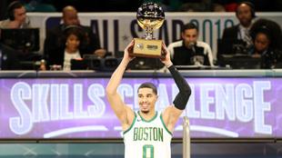 El jugador de los Celtics se impuso