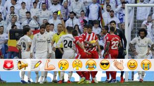 La amarilla a Ramos tras el penalti