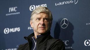 Arsène Wenger, durante una conferencia de prensa este domingo en...