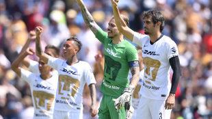 Pumas gana al América en el Clásico Capitalino.