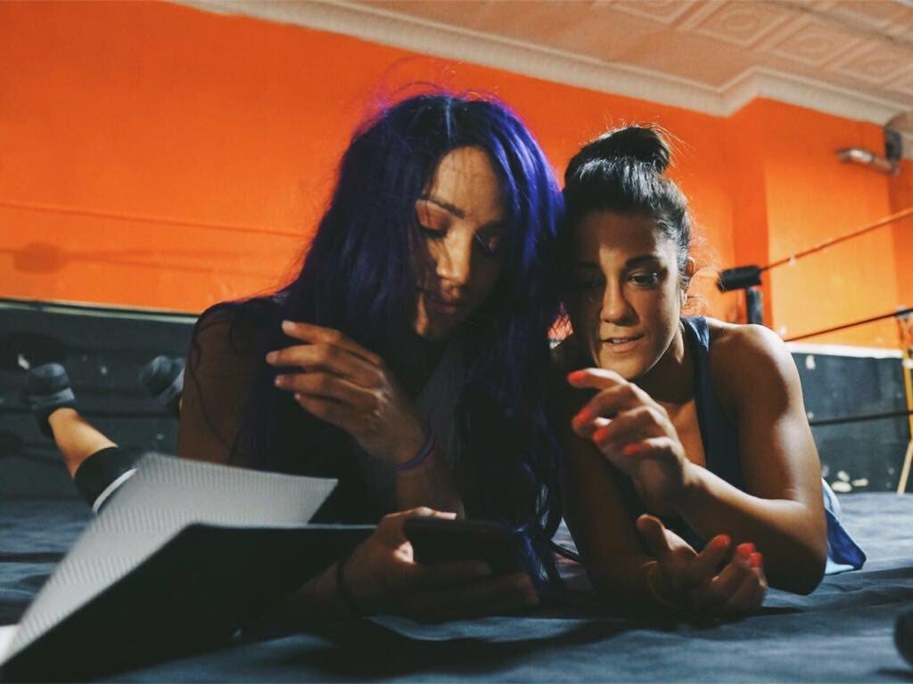 Wwe Elimination Chamber Sasha Banks Y Bayley Primeras Campeones