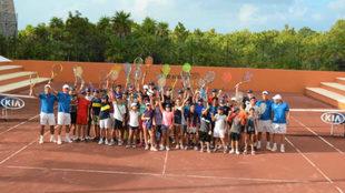 Los elegidos para el Rafa Nadal Tennis Centre Costa Mujeres.