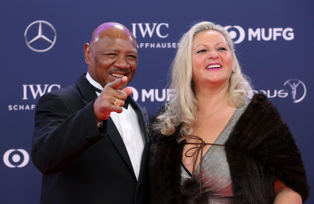 Marvin hagler (boxer) and his wife kay guarrera   MARCA English