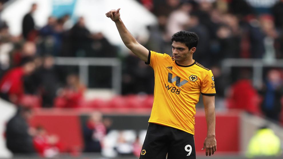 Jiménez celebró la victoria ante el Bristol.