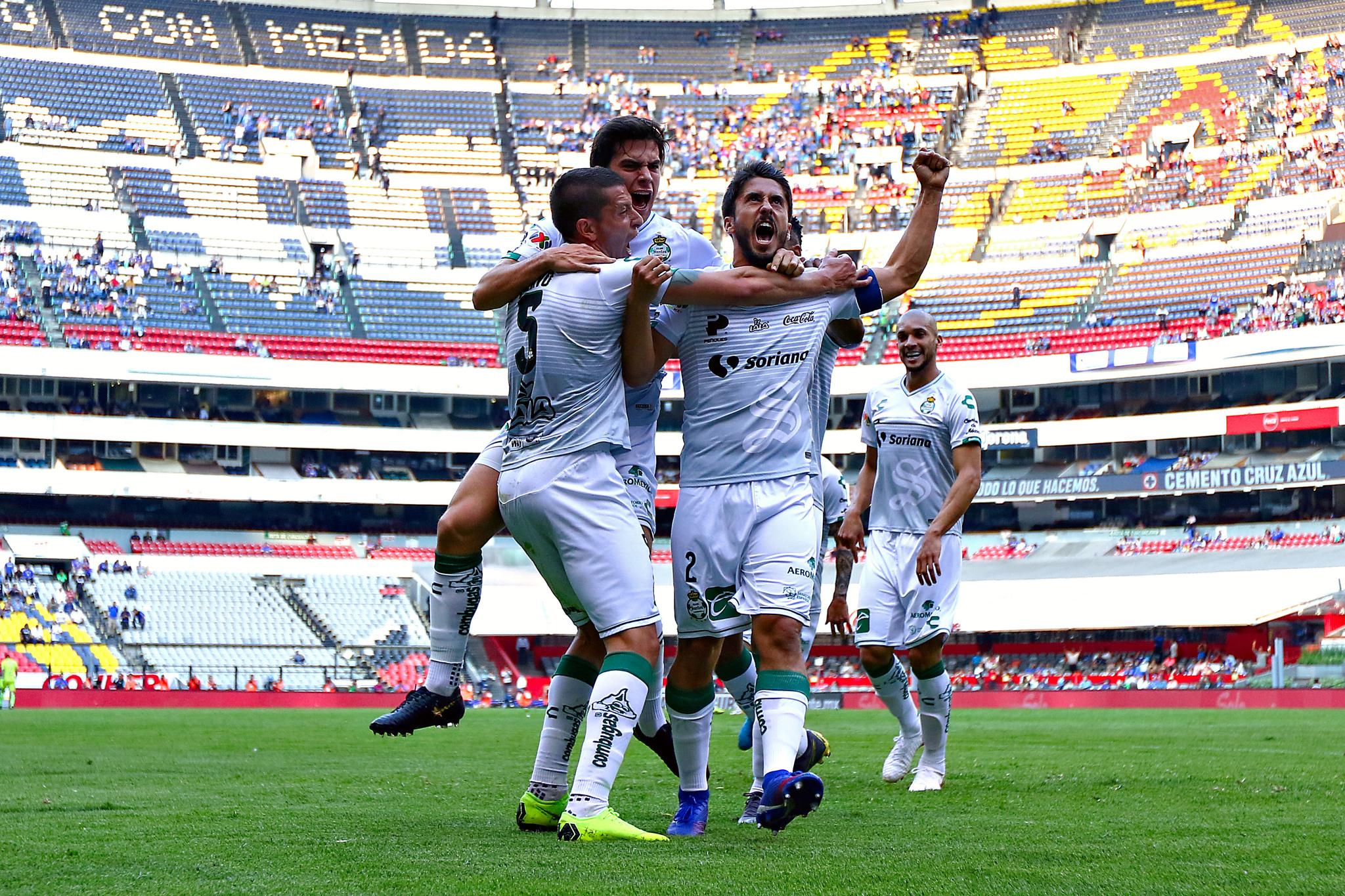 Concachampions: Santos Laguna goleó a domicilio al Marathón hondureño