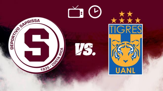 Saprissa vs Tigres: Horario y dónde ver
