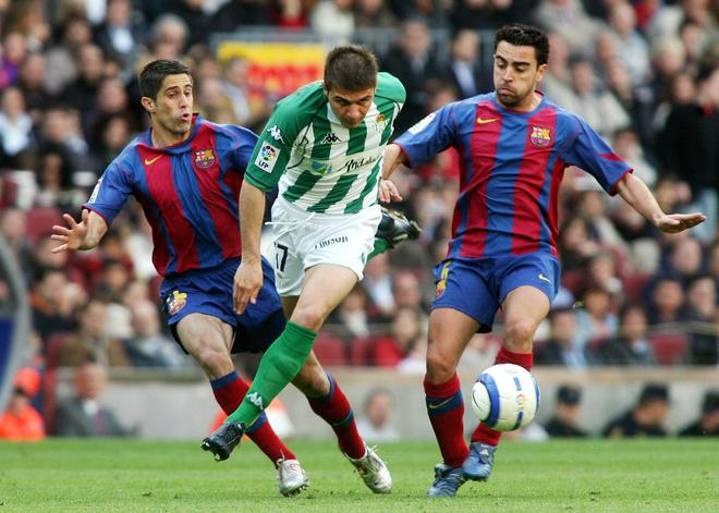 Joaquin went up against Xavi on many occasions