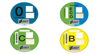 El etiquetado de la DGT, cuestionado por la OCU.