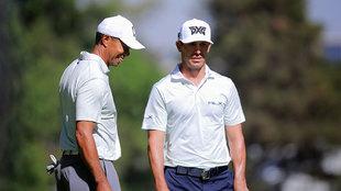 Tiger Woods practicó en el Club de Golf Chapultepec.