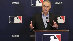 El Comisionado de la MLB habla de un posible acuerdo con México.