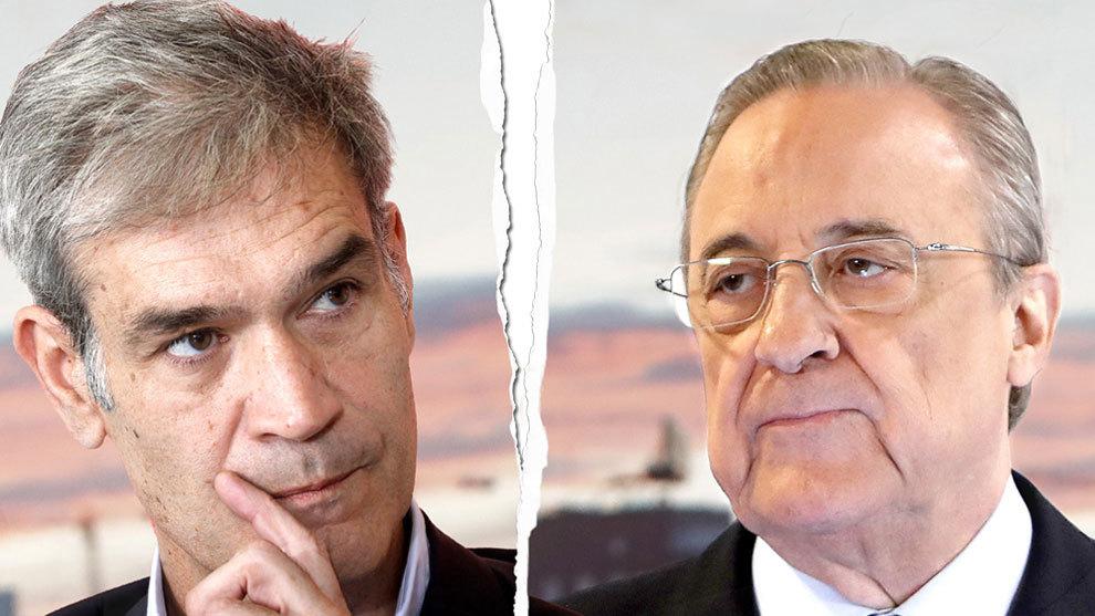 Antonio Martín y Florentino Pérez en guerra