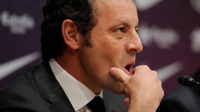 Sandro Rosell, expresidente del Barcelona.