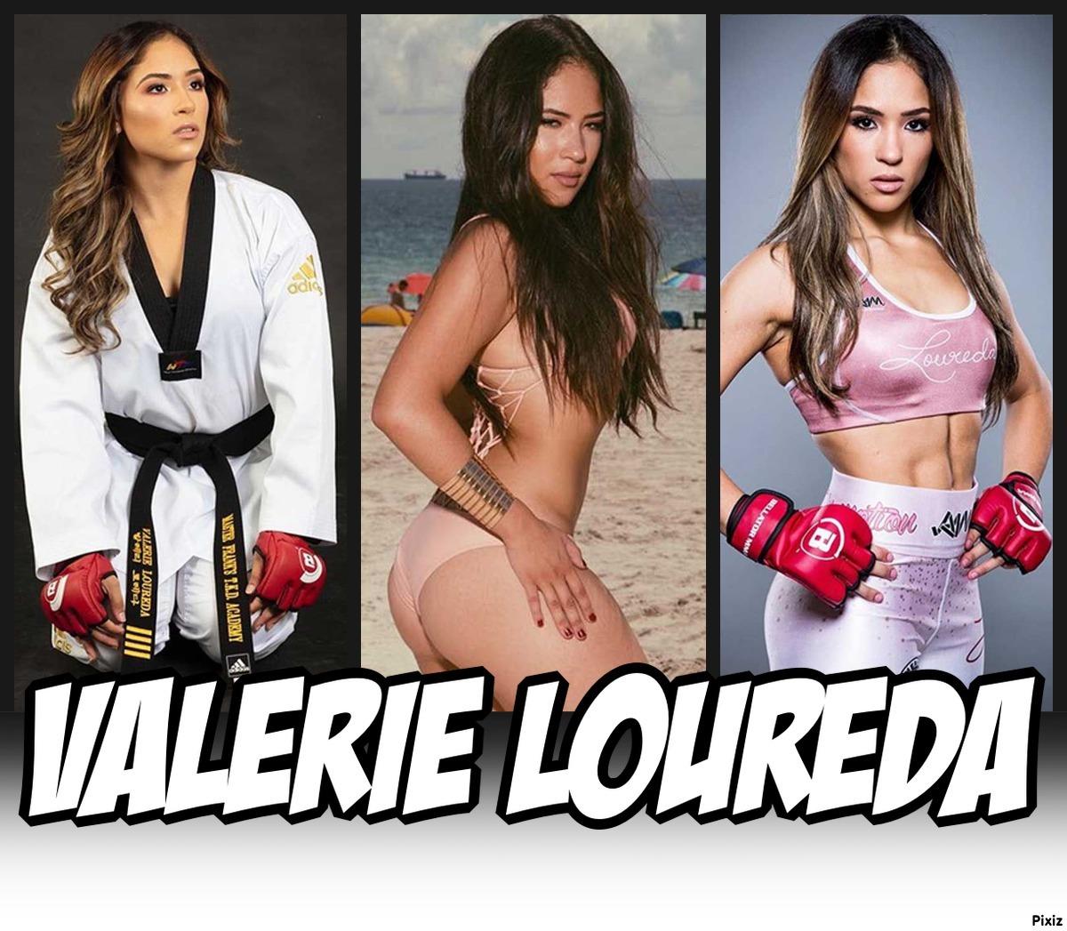 modelo, actriz y luchadora de Valerie Loureda, la última sensación...