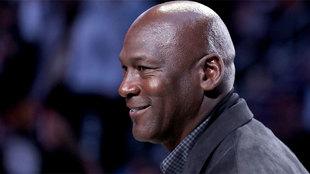 Jordan durante el pasado All Star
