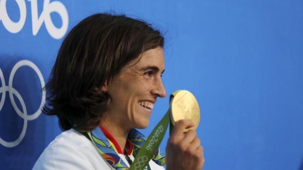 La medallista olímpica Maialen Chourraut agradeció el gesto de...