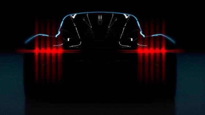 El Projetc 003 nace para rivalizar con el Ferrari LaFerrari y el...