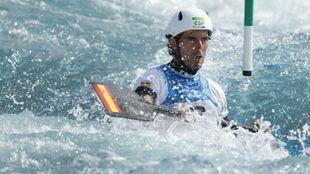 Ander Elosegi es uno de los deportistas ayudados por Kirolgi.