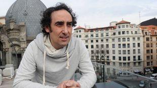 Iturralde González durante una entrevista para MARCA