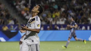 Giovani dos Santos atraviesa un difícil momento con el Galaxy.