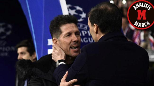 DIego Simeone and Massimiliano Allegri.