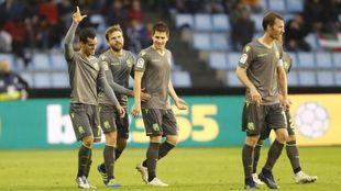 Juanmi dedica a su mujer uno de los dos goles que ha marcado en esta...