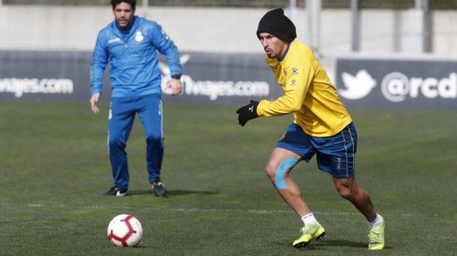 Hernán Pérez regresa a la lista un mes después