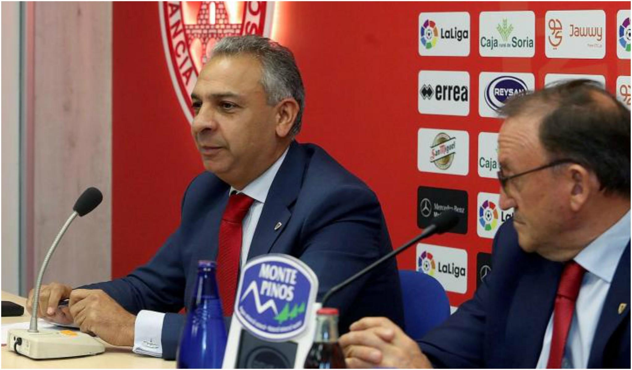 Moisés Israel y Paco Rubio, en una rueda de prensa