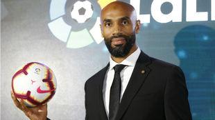 Kanouté (41), en la presentación de los nuevos embajadores de...
