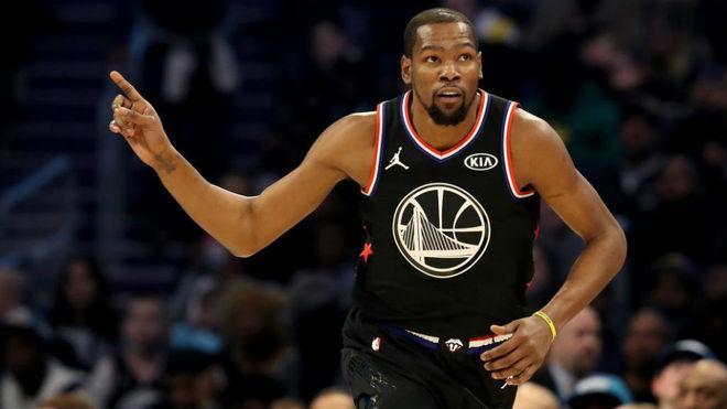 Kevin Durant fue el mejor jugador del All Star de la NBA de 2019