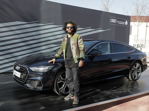 Marcelo with the A7 Sportback 50 TDI quattro tiptronic