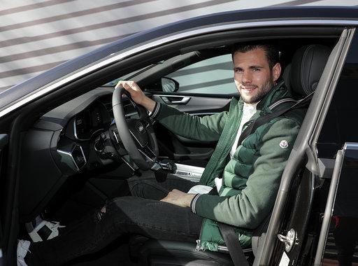 Nacho Fernandez with the A7 Sportback 50 TDI quattro tiptronic