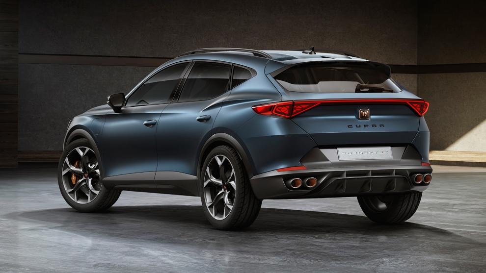 El SUV híbrido enchufable más deportivo — CUPRA Formentor