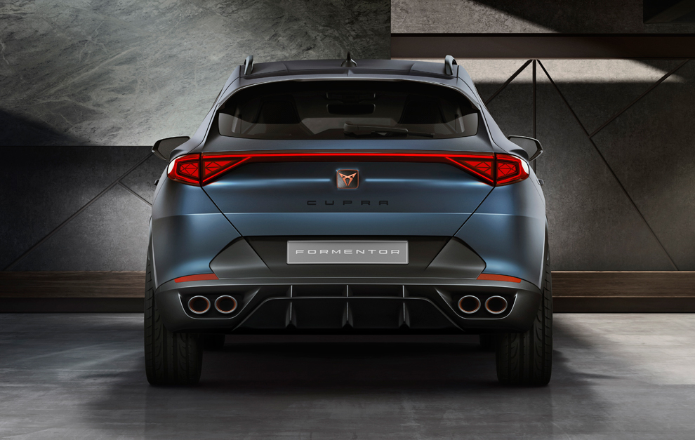 SUV híbrida para celebrar el primer aniversario de la marca — Cupra Formentor