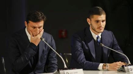 Zanetti and Icardi.