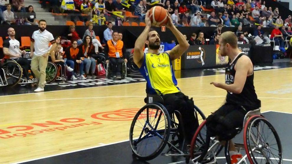 Alejandro Zarzuela (Ilunion) fue el mejor jugador de la primera...