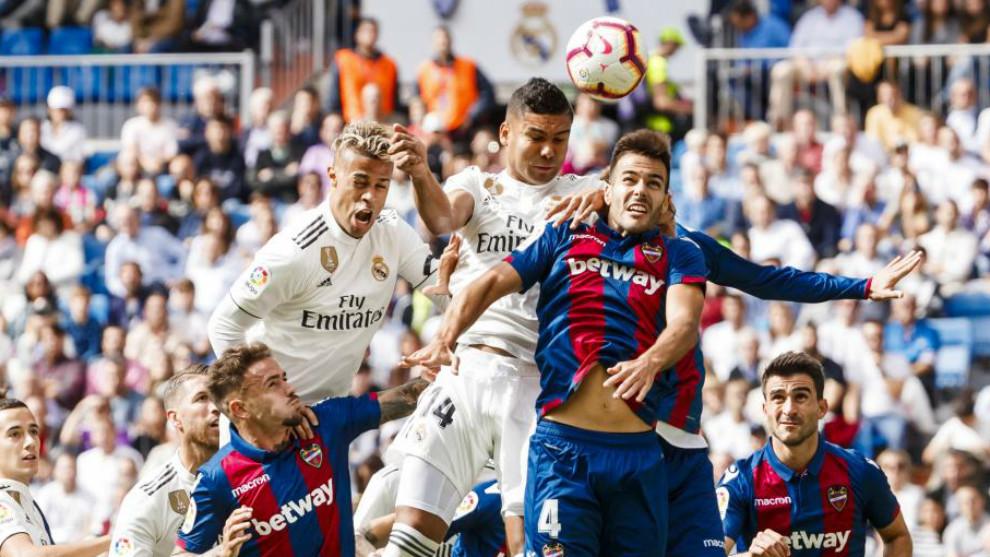Liga Santander 2018-19  Levante - Real Madrid  Horario y dónde ver ... a3870583a3108