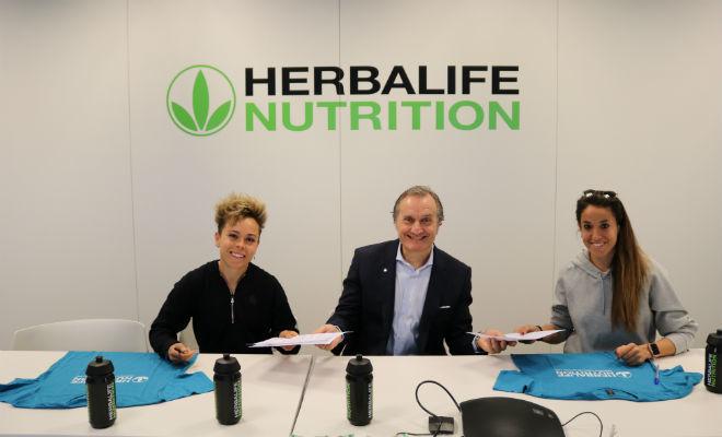 Amanda Sanmpedro, Carlos Barroso y Olga García en las oficinas de...