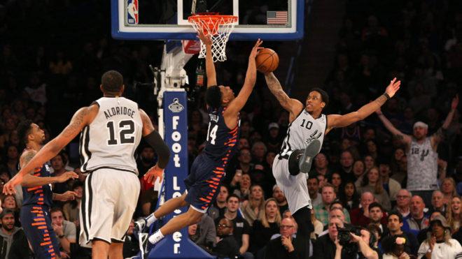 New York Knicks 130 - 118 San Antonio Spurs