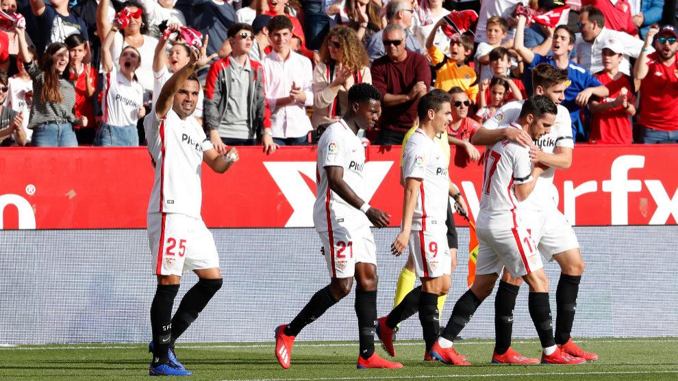 Una semana casi inédita para el Sevilla