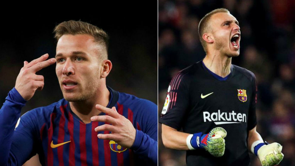 Arthur and Cillessen.