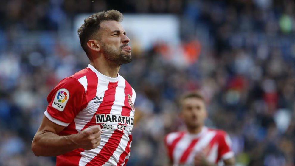 Stuani recently scored against Real Madrid.