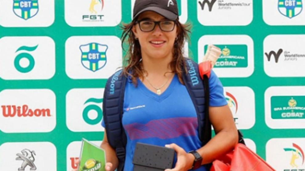 Ane Mintegi, campeona en Porto Alegre