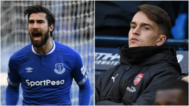 Andre Gomes and Denis Suarez