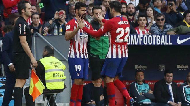 Diego Costa substitute for Morata