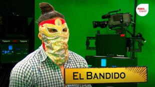 El Bandido visitó nuestras instalaciones.