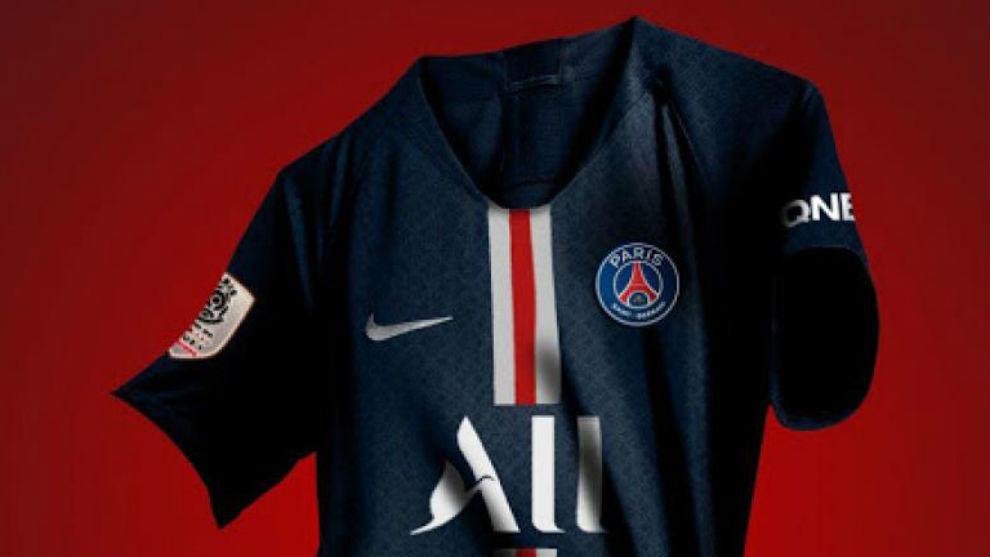 El PSG presenta su nuevo patrocinador para la camiseta 4529df9463598